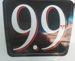 Наклейка на лодочный мотор tohatsu 9.9