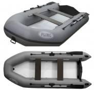 Лодка ПВХ Flinc FТ290LA (цвет серый)