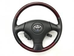 Оригинальный руль с косточкой под красное дерево для Toyota