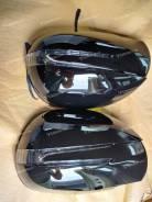 Корпус зеркала Lexus GX470/Land Cruiser Prado 120 Черные/Белые/Серебро