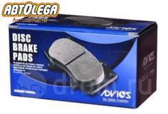 Колодки зад. Advics Mazda CX-7 ER/ER3P 06- MPV LY3P 06- CX-9 TB (06-)
