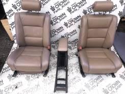 Сиденья, дверные карты, подлокотник Кожа! Toyota crown UZS131