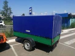 Иркут - 3 зеленый с высоким тентом синий
