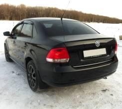 Лип спойлер на багажник VW Polo (Фольксваген Поло) седан 2010г-выше