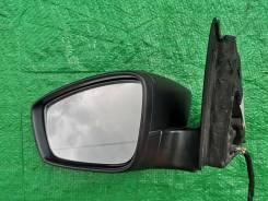 Зеркало левое (5 контактов) 5JB857501F Шкода Рапид