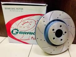 Диски тормозные перфорированные пер. G-Brake GFR02451