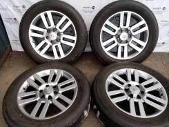 Комплект литых дисков Toyota на шинах 245/60R20 Bridgestone