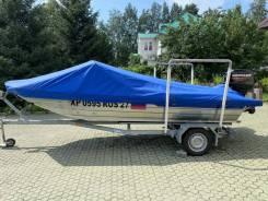 Продаётся алюминиевая моторная лодка Русбот 52 JET (водомёт)