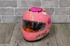"Мотошлем для детей, розовый ""Hello Kitty"""
