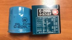 Фильтр масляный VIC Япония C-206L. Цена 400р.