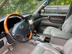 Руль Lexus lx 470, Land Cruiser 100 2007г дерево