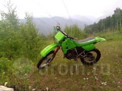 Kawasaki KMX125, 1990