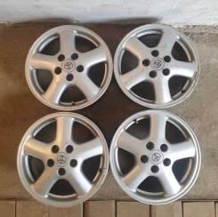 Комплект литых дисков Toyota: (JWL ) R16-6,5JJ ET-50 5x114,3