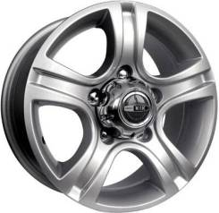 Диск колёсный K&K Талисман Мега 7 x 16 5*139,7 Et: 35 Dia: 110,1 блэк платинум