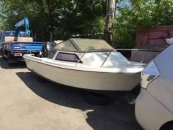 Продам лодку с подвесным мотором 50сил 4-х такт.