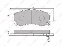 LYNXauto BD-7105 Колодки тормозные дисковые Subaru