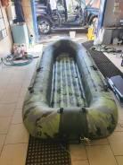 Лодка с мотором для горной речки
