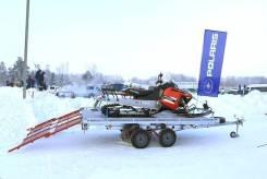 Автоприцеп Тандем 82132E, погрузочная площадка в Усть-Илимске