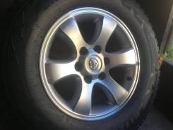 Продам комплект отличных литых дисков из Японии R17 6/139.7 Toyota