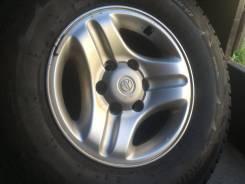 Продам комплект отличных литых дисков из Японии R16 6/139.7 Toyota
