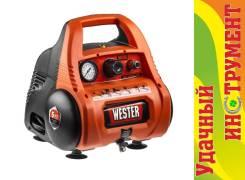 Компрессор с прямой передачей Wester WK1200/6, 1,1 кВт, 180 л/мин