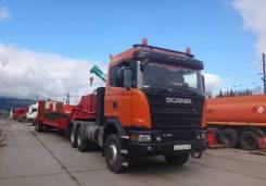 Седельный тягач Scania, В Якутии п. Витим год, 2016