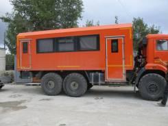 КамАЗ 43118 вахтовый автобус 6х6, 2019