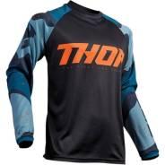 Джерси для мотокросса Thor S9 Sector XXXL, Темно-синий