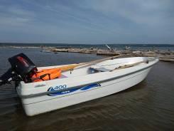 Terhi 400 финская моторная лодка