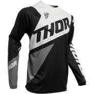 Джерси для мотокросса Thor S20 Sector Blade 3XL, черно-белый