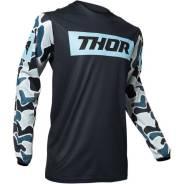 Джерси для мотокросса Thor S20 Pulse Fire темно-синие XXL