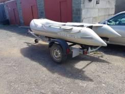 Продам надувную лодку с прицепом