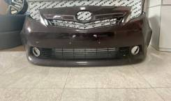 Передний бампер Toyota Alpha 2011-2014 Оригинал Б/У