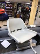 Сиденье пластмассовое складное Folding Plastic Boat Seat серое.