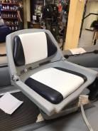 Сиденье пластмассовое складное Folding Plastic Boat Seat с подложкой.