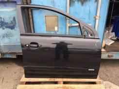 Дверь передняя правая Opel Astra H 5D черная