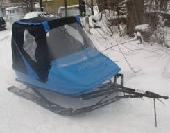 Продам новые крытые пассажирские сани для снегохода