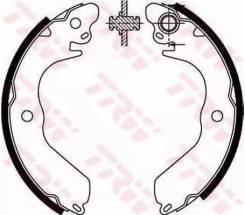 Колодки барабанныеMitsubishi Lancer 1.3-2.0D/Co GS8553_=4647. 00=533SBS=K6712-01! TRW [GS8553]