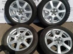 Комплект литых дисков Mak на шинах 185/60r15 Dunlop