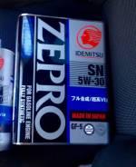 Масло моторное синт. Idemitsu Zepro SN/GF5 SAE 5W30 4л