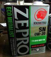 Масло моторное синт. Idemitsu Zepro ECO Medalist SN/GF5 SAE 0W20 4л