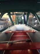 Продам Лодка надувная ПВХ Forward MX420FL, сер, пол дерев. +тент420Бgn