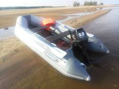 Лодка надувная + мотор 9.9 Parsun