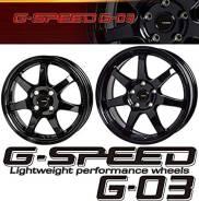 Комплект новых литых дисков G-Speed G-03 16 5*100 +48