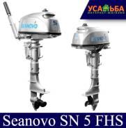Лодочный мотор 2-хтактный Seanovo SN 5 FHS с баком 12л