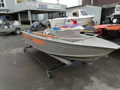 Продам лодку Wellboat-42NexT 2015 г с лодочным мотором.
