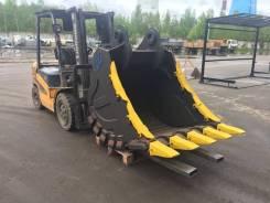 Ковш скальный сверхусиленный для экскаватора Hitachi EX-400 (450)