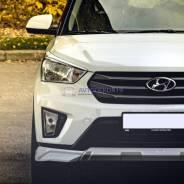 Реснички накладки ZEUS на фары Hyundai Creta (Хендай Крета) 2015г-выше