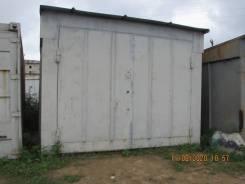 Продам гараж в Ливадии. Металлический. С местом. На одну автомашину.