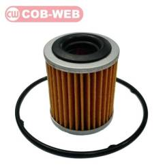 Фильтр гидроблока CVT с прокладкой COB-WEB X-Trail #T31, Qashqai/Dualis #J10 MR20DE, QR25DE SF332CFS